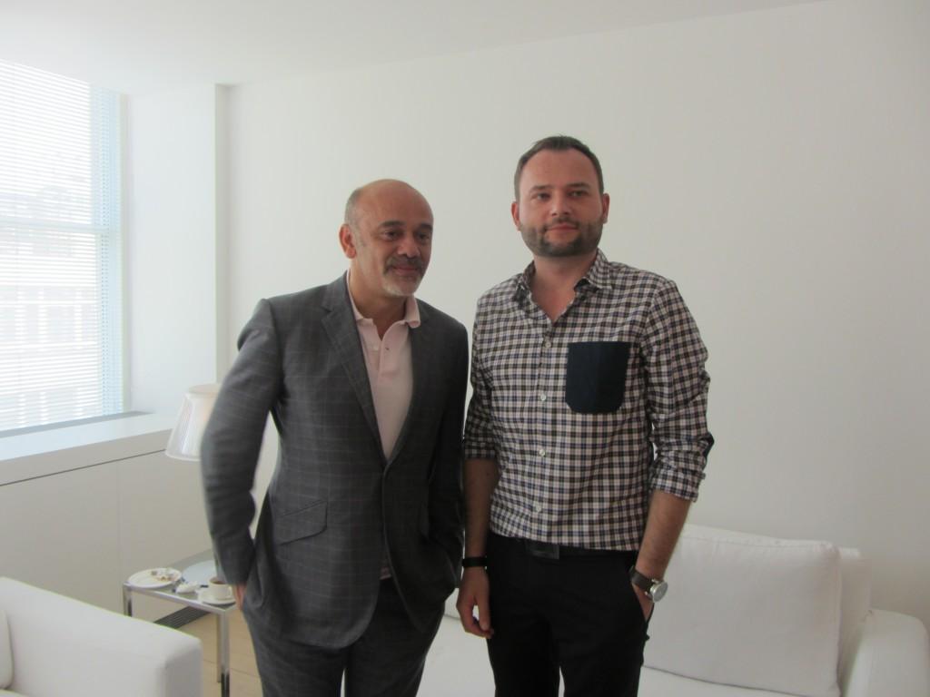 Christian Louboutin i Michał Zaczyński