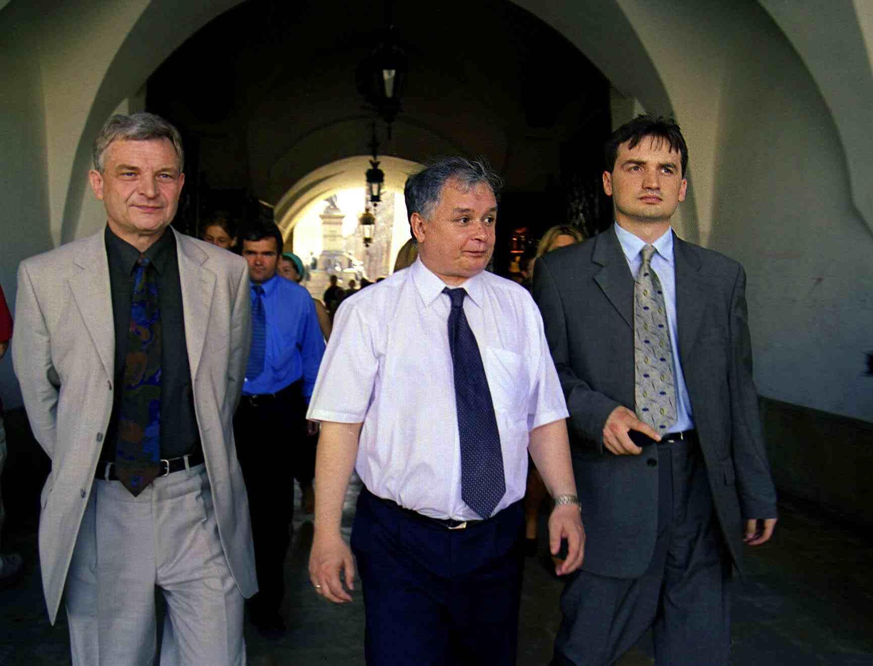 Zbigniew Wasserman, Jarosław Kaczyński, Zbigniew Ziobro