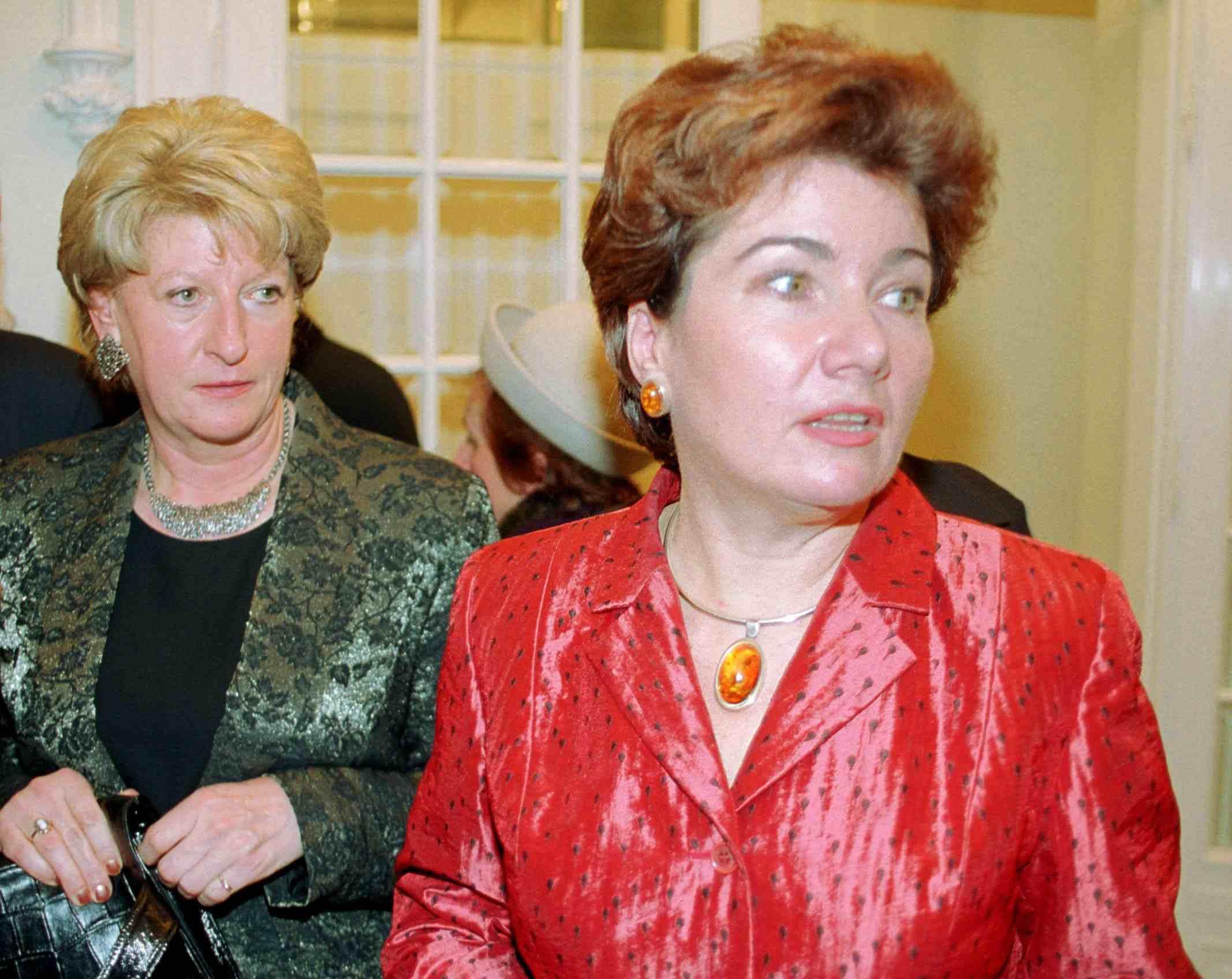 Hanna Suchocka i Hanna Gronkiewicz Waltz