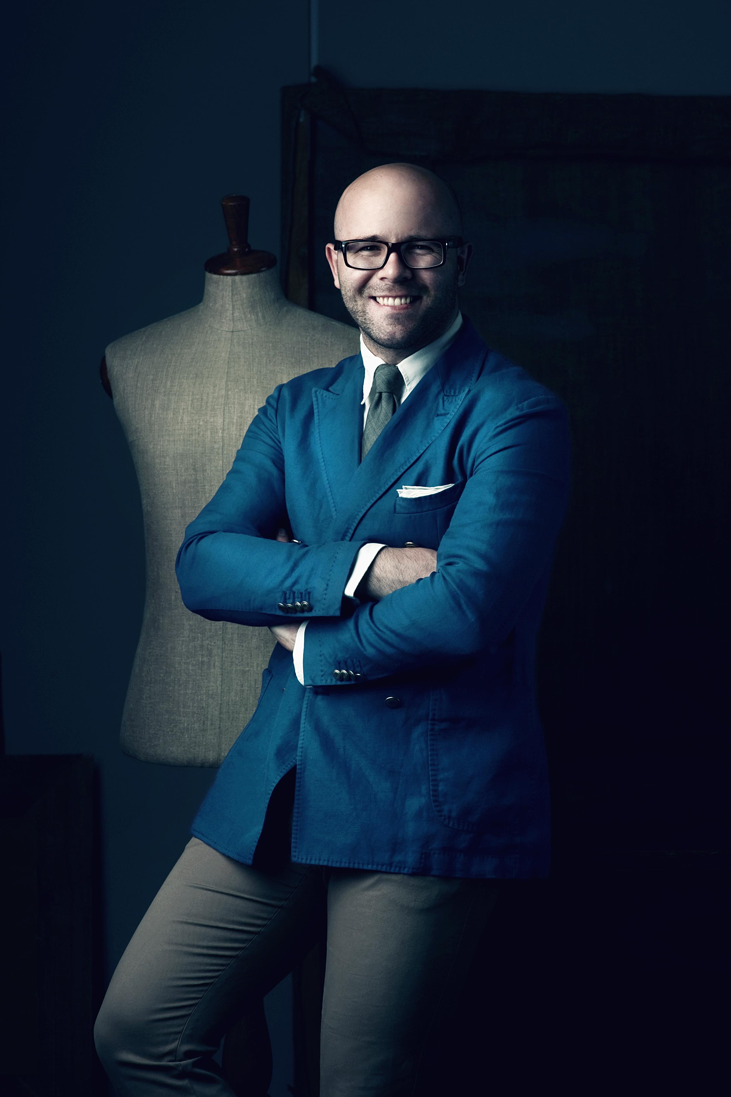 Michał Zaczyński » Moda męska to kwestia intuicji