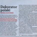 Dekorator polski
